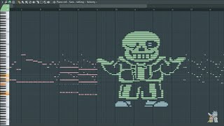 What Sans Sounds Like - MIDI Art