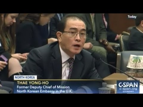 North Korean Defector Tells Congress He Believes North Korea And South Korea CAN Be Reunified!