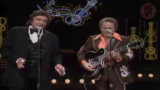 Roy clark and johnny cash orange blossom special live in 1978when the cowboy sings websitehttp://whenthecowboysings.es/kwc americana radio stationhttp://kwca...