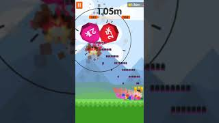 ball blast score 1.23m with a new weapon 'missile' (4/4)