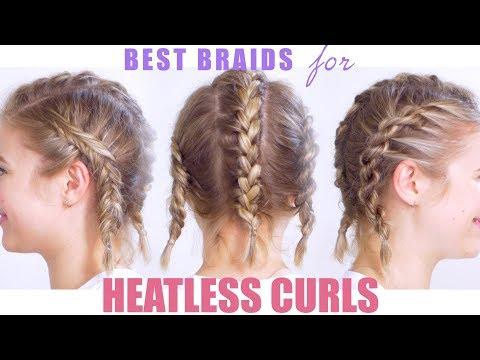 Best Braids for Heatless Curls or Waves | Milabu