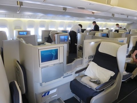 British Airways B777-300ER Business Class from Tokyo to London (SPECTACULAR Tokyo views)