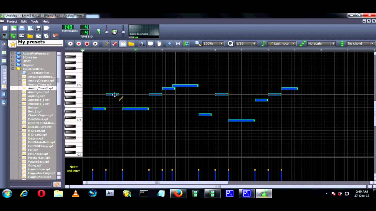 Free music composition and notation software