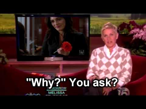 Lisa Edelstein on Ellen Show