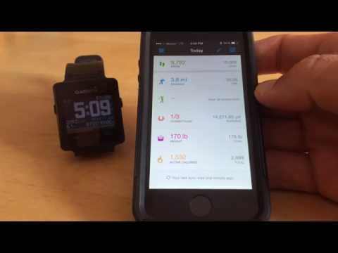 Garmin Vivoactive - How To Force An Auto-sync When Activity Fails To Upload