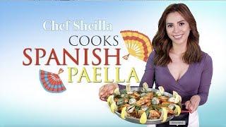 How To Make Perfect Paella | Spanish Paella | Easy Traditional Paella Recipe - Chef Sheilla