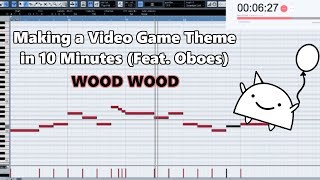Attempting to Make a Video Game Theme with Only Oboes in 10 Minutes || Shady Cicada
