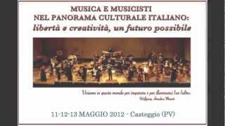 Seminario per Musicisti e Musicoterapisti 11-13 maggio 2012