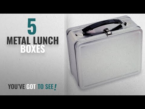 Best Metal Lunch Boxes [2018]: Plain Metal - Retro - Lunch Box