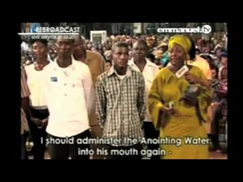 Watch TB Joshua - ANOINTING WATER, Deliverance of Son From Secret Cult