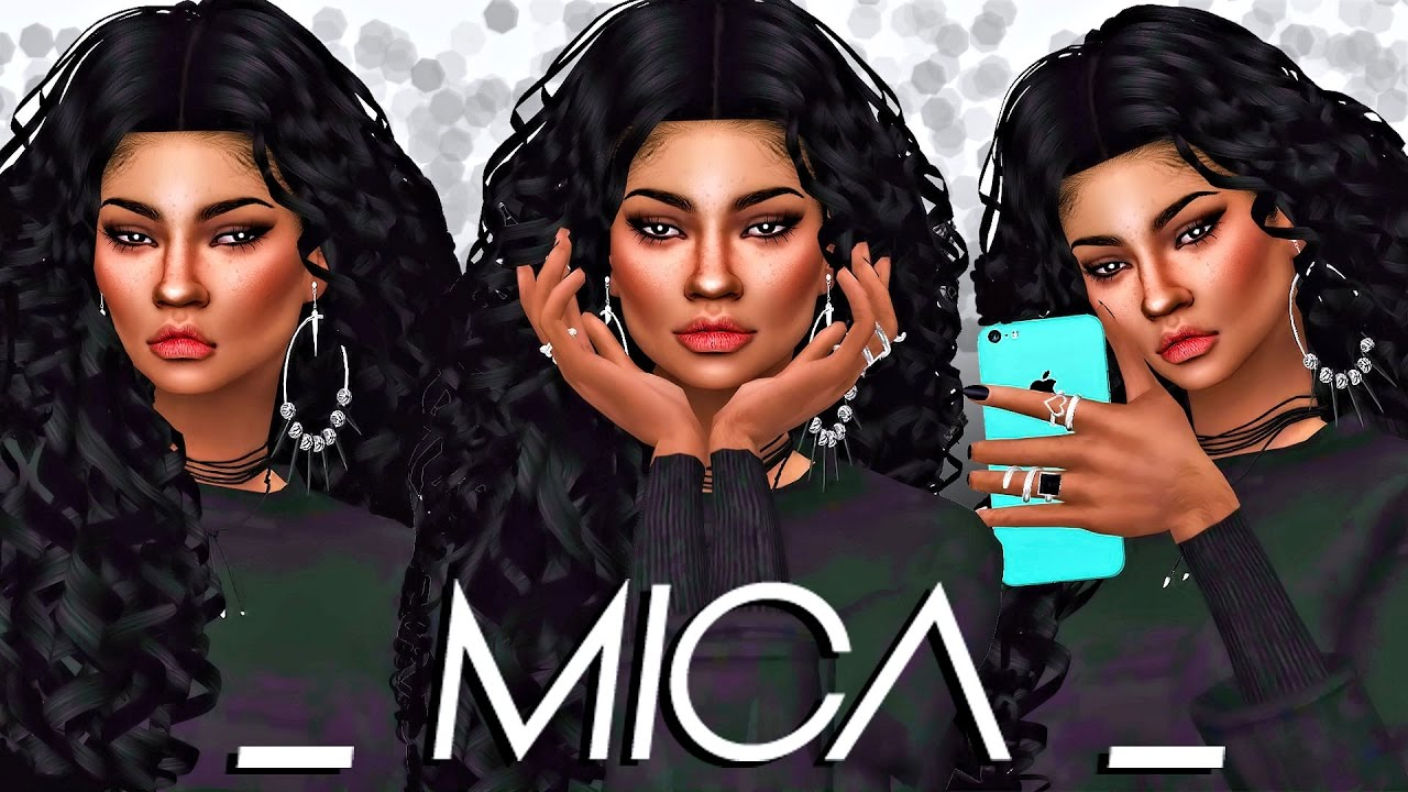 The Sims 4 Cas Latina Mica Full Cc List Youtube