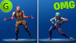 ALL THE BAILES AND SKINS OF THE BATTLE PASS 4 Fortnite Battle Royal