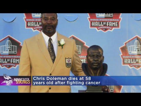 Former Viking And Hall Of Famer Chris Doleman Dies At 58