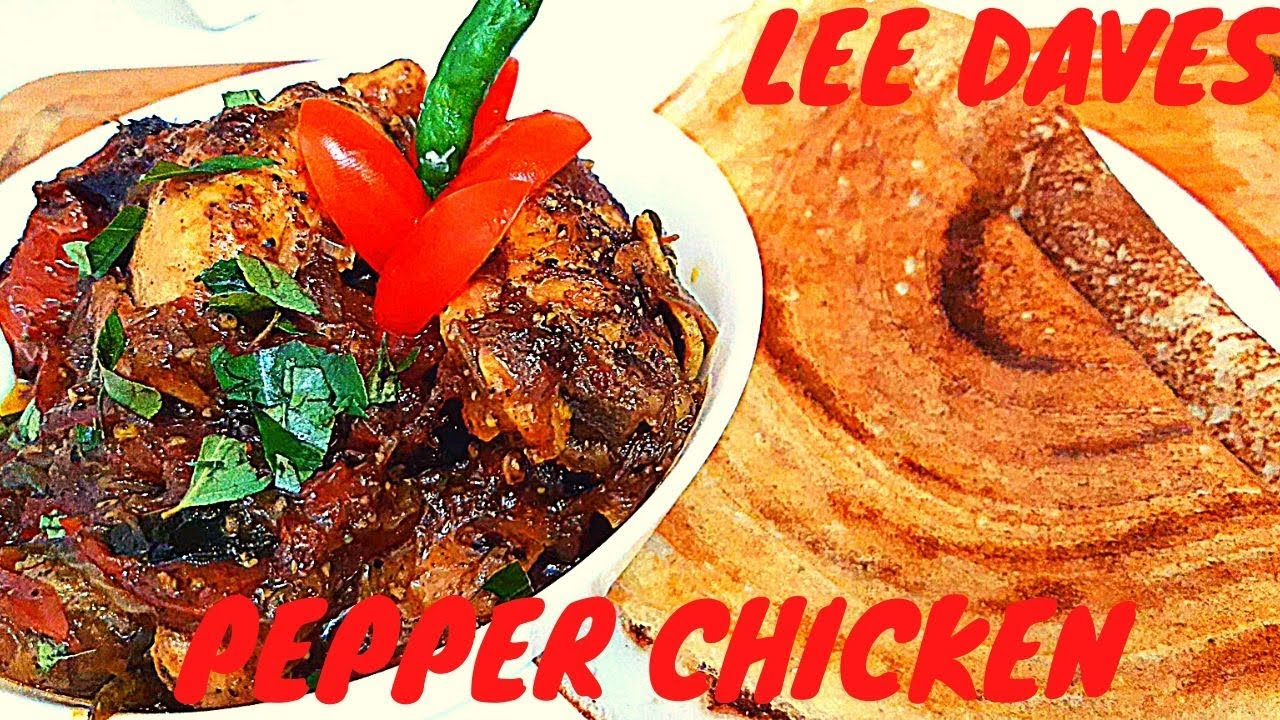 Black Pepper Chicken For A Quick Weekday Dinner,