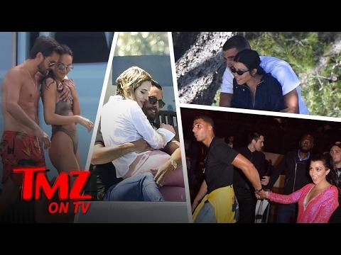 Kourtney and Scott Compete in Cannes | TMZ TV