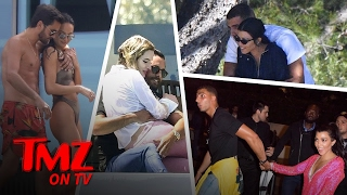 Kourtney and Scott Compete in Cannes | TMZ TV
