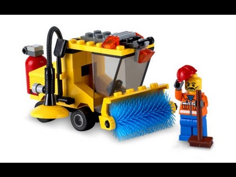LEGO City Street Cleaner, Toys For Kids, Lego Toy - YouTube