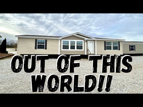 Mobile Home Out Of This World!! 32x64 3 Bedroom 2 Bath By Platinum Homes   Home Tour