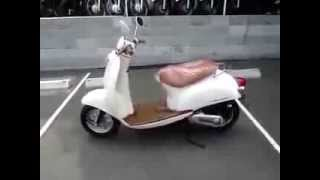 #10VIDEO Скутер Crea Scoopy AF 55