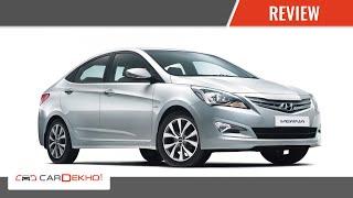 Hyundai 4s Fluidic Verna I Review Of Features | Cardekho.com
