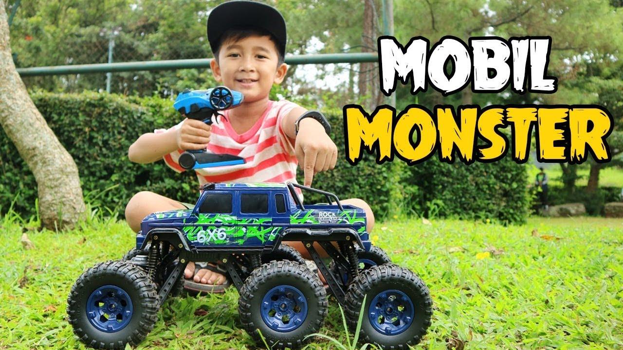 Mainan Mobil Monster Besar Pakai Remote Control Youtube