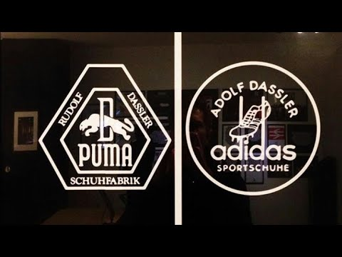 Puma v s Adidas - Rivalry of two real brothers - YouTube d60cf8295