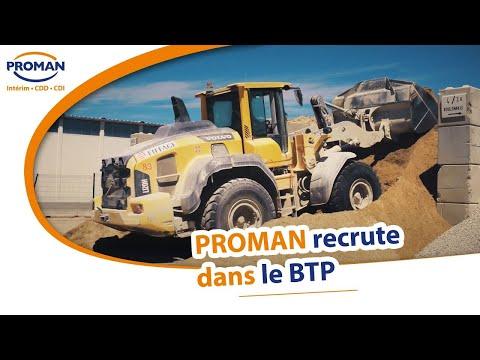 PROMAN recrute dans le #BTP