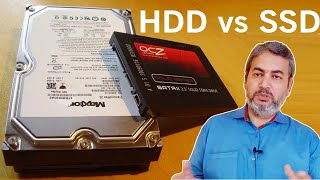 HDD vs SSD | Explained in Detail | Hindi | SSD Drive | Difference between SSD and HDD