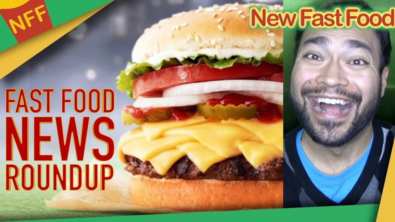 Fast Food News Roundup, Green Bay Whopper, KFC Chicken & Waffles and More - New Fast Food
