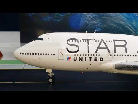 JC Wings 200 United B747-400(Star Alliance Livery)Review