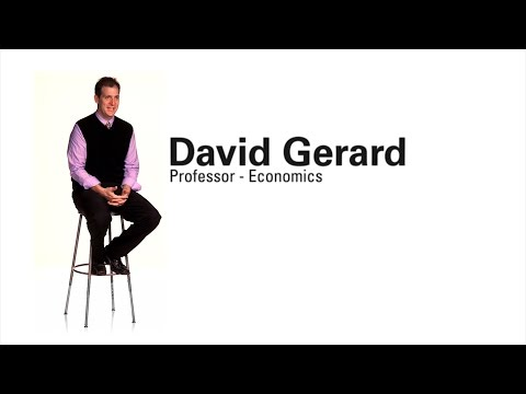 Faculty Profile - David Gerard (Professor of Economics)