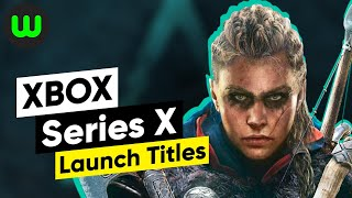 28 Upcoming Xbox Series X Games of 2020 | Confirmed launch titles
