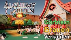 Alchemy Garden | Wir Gärtnern, Brauen und verkaufen Tränke | Indie Game Vorstellung