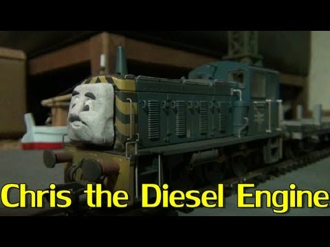 Chris the Diesel Engine (Fan-made character)