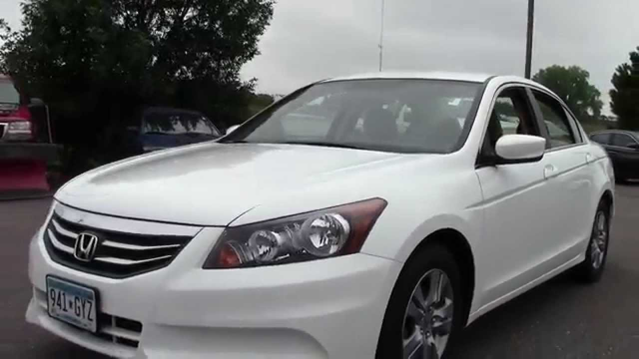 Charming 2012 Honda Accord I4 Auto SE 6H140153A