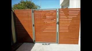 Fence Slats Cedar Woodlok Alislat