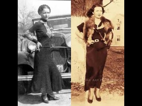 5. Bonnie Parker and Blanche Barrow: The Bluest Shot-At Eyes in Texas
