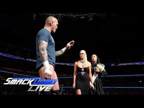 Randy Orton brings a little serpentine bedlam to