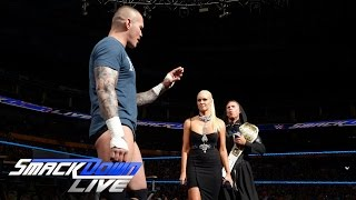 "Randy Orton brings a little serpentine bedlam to ""Miz TV"": SmackDown Live, July 26, 2016"