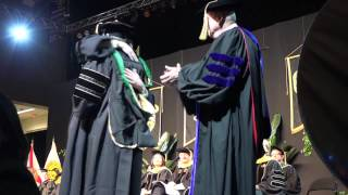 Father Officiates Son's Graduation Ceremony From UCF Medical School