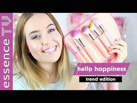 OMG - günstige drogerie pinsel - essence trend edition hello happiness I essenceTV