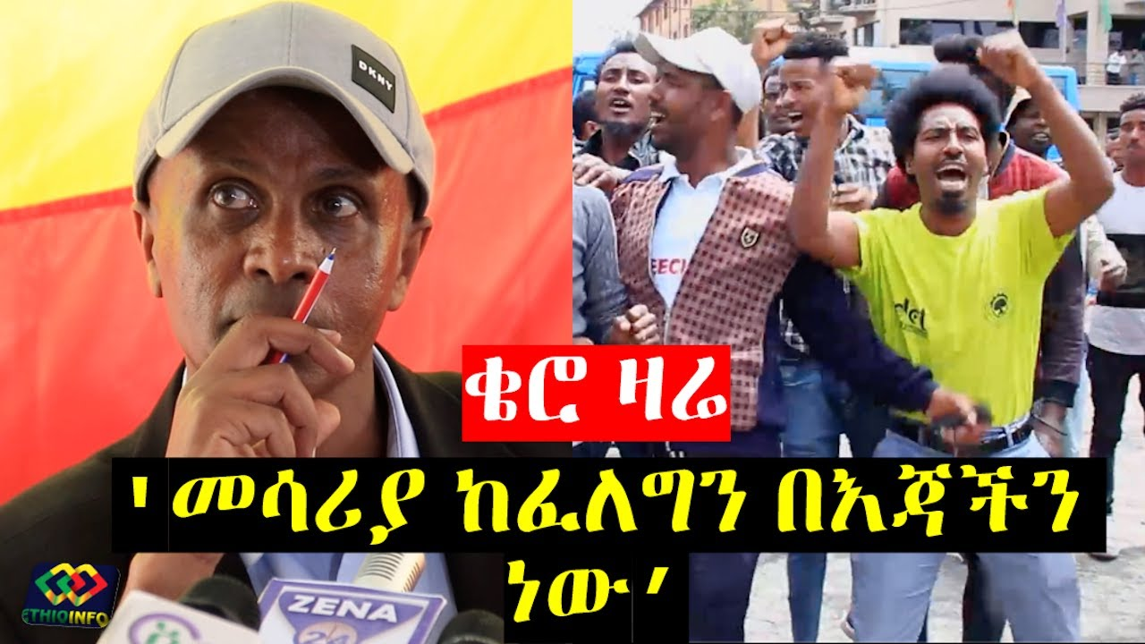 Eskinder Nega Addis Ababa Press Conference.