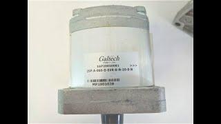 Gear pump Group 2 Galtech  6 cc rev 2SPA6D10N video