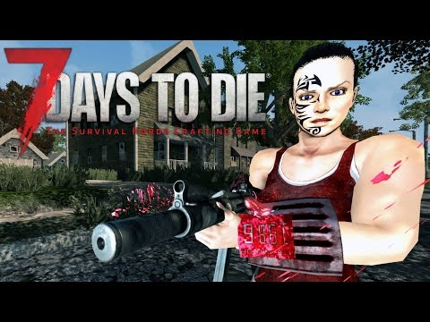 HUNTING BANDITS | Let's Play 7 Days to Die Part 22 | Bandit Mod & Treasure Hunt | Alpha 15 Gameplay