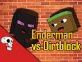 """Enderman VS Dirtblock"" Rap Battle by JT Music and Dan Bull"