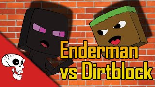 """Enderman VS Dirtblock"" Rap Battle by JT and Dan Bull"
