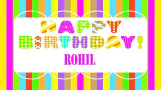 Rohil Wishes & Mensajes - Happy Birthday