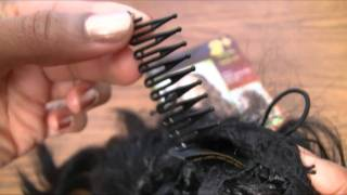 How to remove the combs from wigs