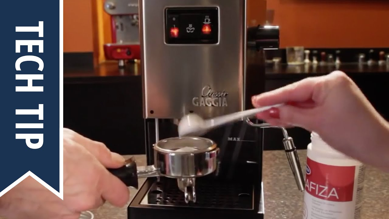 gaggia classic rengöring