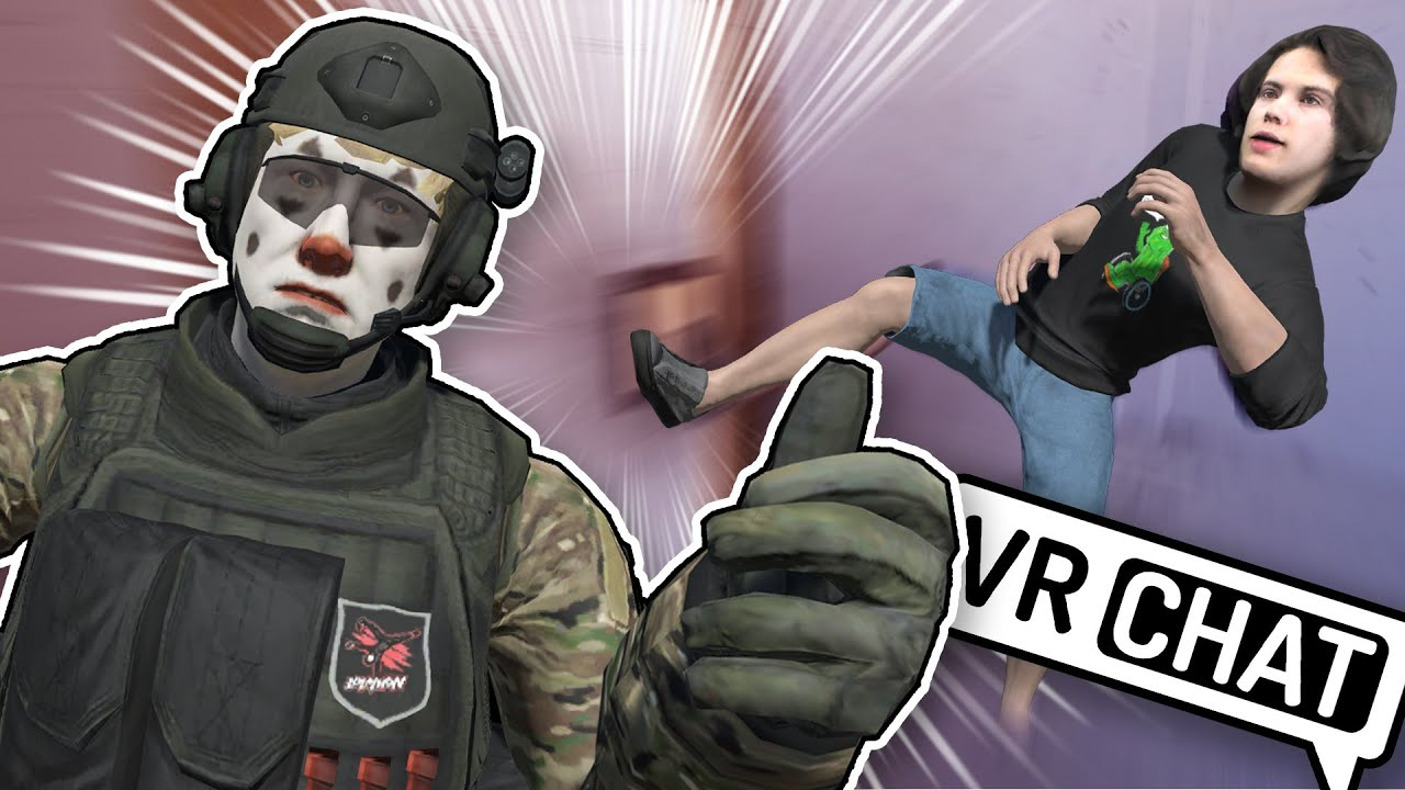 Whats behind this door? - VRCHAT Funny Moments